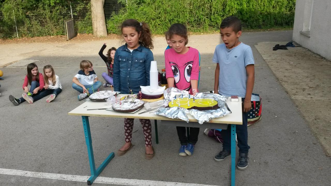 Anniversaire Lona, Eline et Sabri