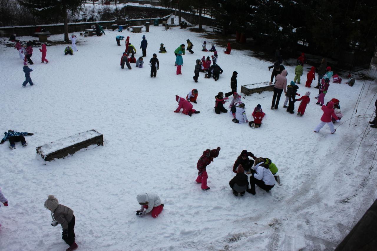 Ballade + jeux de neige