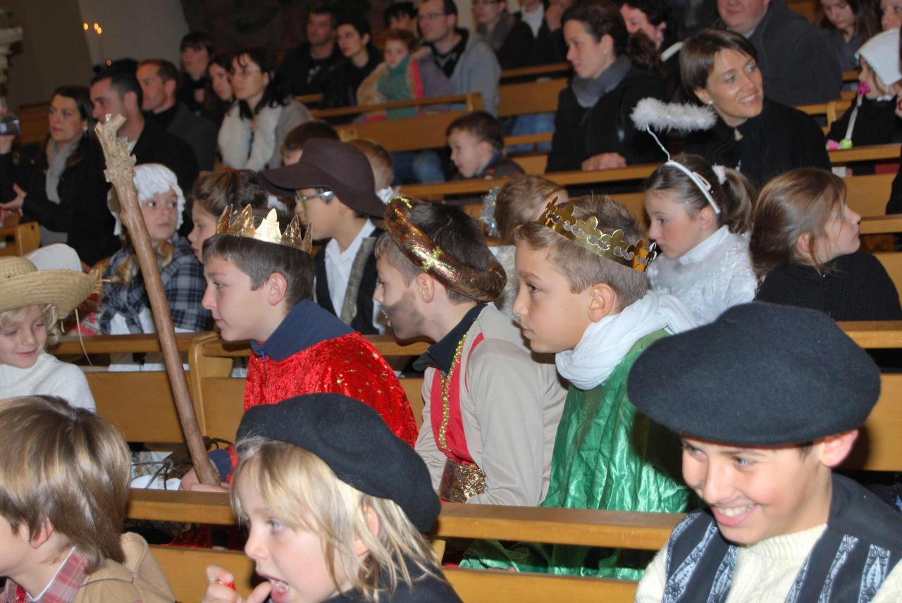 Défilé et messe de Noël