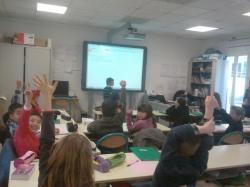 Interactivité et nombreuses possibilités séduisent les écoliers